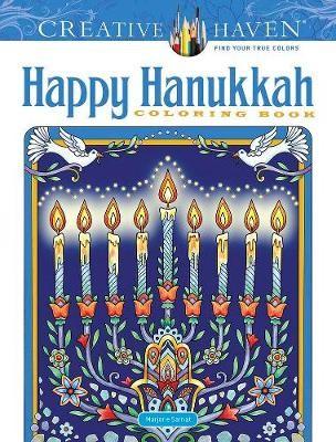 Creative Haven Happy Hanukkah Coloring Book -