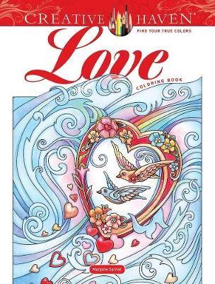 Creative Haven Love Coloring Book -