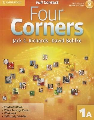 Four Corners Full Contact A Level 1 with Self-study CD-ROM -