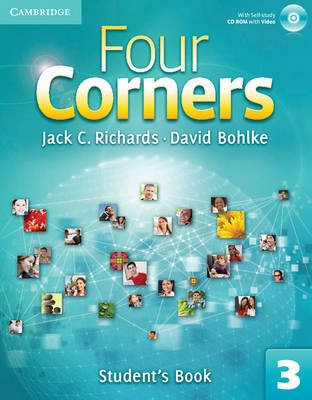 Four Corners Level 3 Student's Book with Self-study CD-ROM -