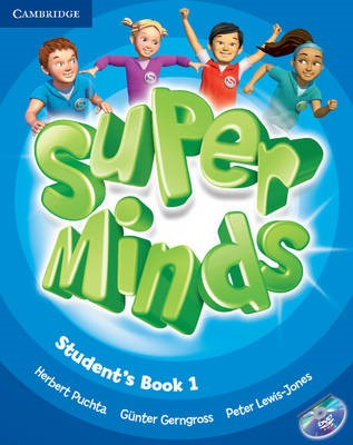 Super Minds Level 1 Student's Book with DVD-ROM - pr_94375
