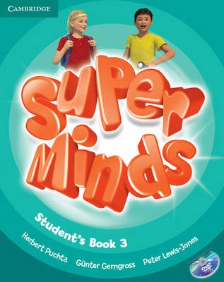 Super Minds Level 3 Student's Book with DVD-ROM - pr_208803