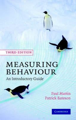 Measuring Behaviour -