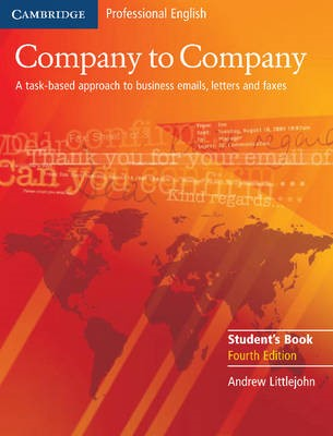 Company to Company Student's Book -
