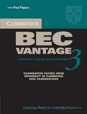 Cambridge BEC Vantage 3 Student's Book with Answers - pr_386414