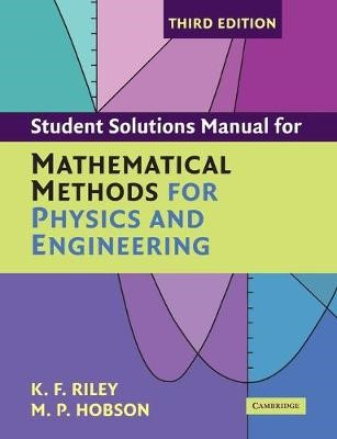 Student Solution Manual for Mathematical Methods for Physics and Engineering Third Edition - pr_306741