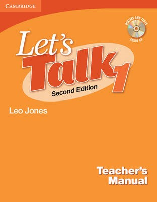 Let's Talk Level 1 Teacher's Manual with Audio CD - pr_234878