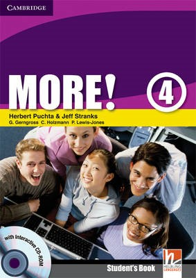 More! Level 4 Student's Book with Interactive CD-ROM - pr_270737
