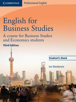 English for Business Studies Student's Book - pr_18514