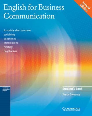 English for Business Communication Student's book -