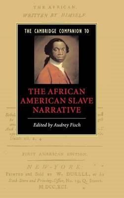 The Cambridge Companion to the African American Slave Narrative - pr_386389