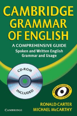 Cambridge Grammar of English Hardback with CD-ROM -