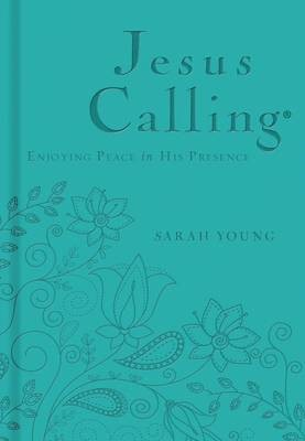 Jesus Calling - Deluxe Edition Teal Cover - pr_405535