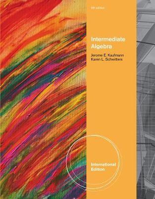 Intermediate Algebra, International Edition - pr_313937