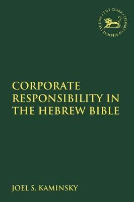 Corporate Responsibility in the Hebrew Bible - pr_100602