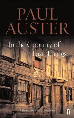 In the Country of Last Things -