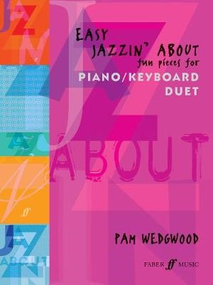 Easy Jazzin' About Piano Duet -