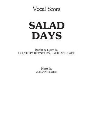 Salad Days (Vocal Score) -