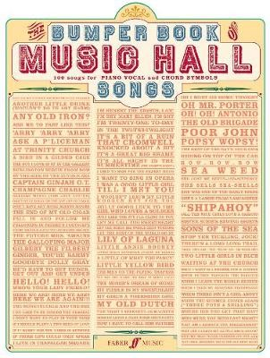 Bumper Book Of Music Hall Songs -