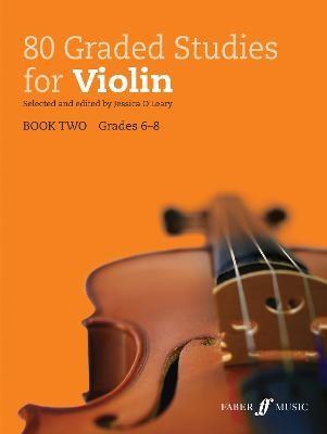 80 Graded Studies for Violin Book 2 -