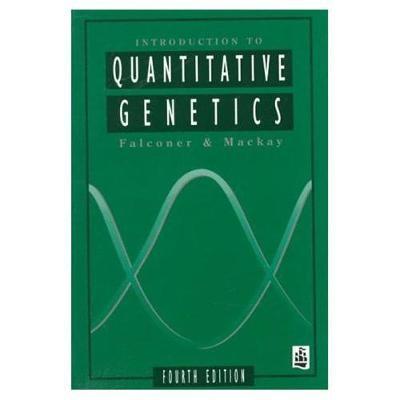Introduction to Quantitative Genetics -