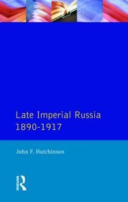 Late Imperial Russia, 1890-1917 - pr_37298