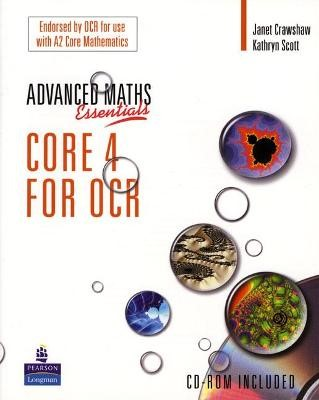 A Level Maths Essentials Core 4 for OCR Book and CD-ROM - pr_17572