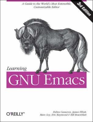 Learning GNU Emacs -