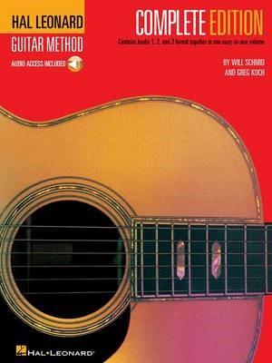 Hal Leonard Guitar Method Complete Edition + Audio -