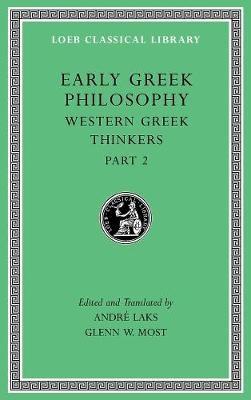 Early Greek Philosophy, Volume V - pr_83270