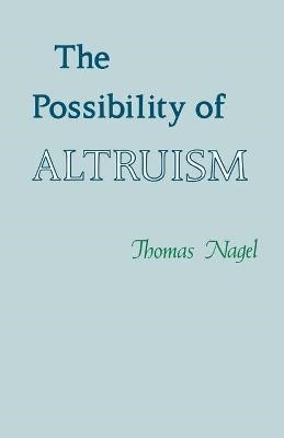 The Possibility of Altruism - pr_83031