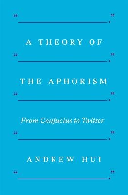 A Theory of the Aphorism - pr_82113