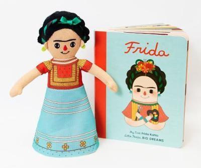 Frida Kahlo Doll and Book Set - pr_1744787
