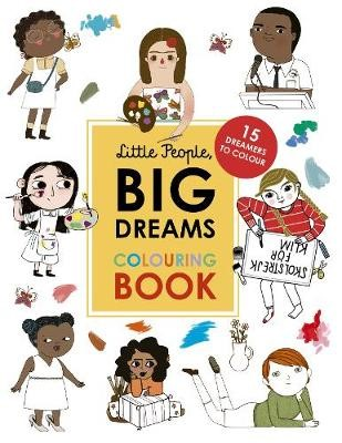 Little People, Big Dreams Colouring Book -