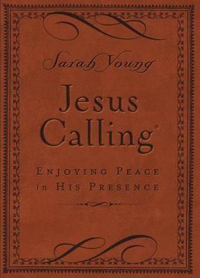 Jesus Calling (Brown Leathersoft) - pr_292795