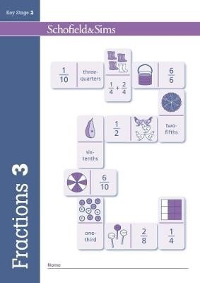 Fractions, Decimals and Percentages Book 3 (Year 3, Ages 7-8) - pr_16304