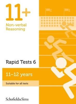 11+ Non-verbal Reasoning Rapid Tests Book 6: Year 6-7, Ages 11-12 -