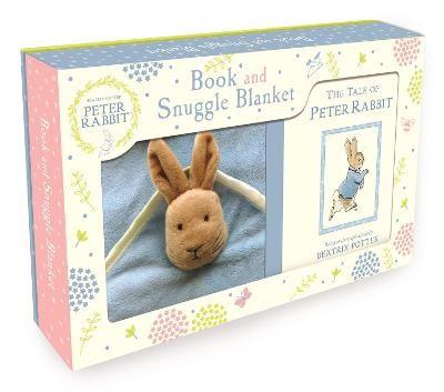 Peter Rabbit Book and Snuggle Blanket - pr_72137
