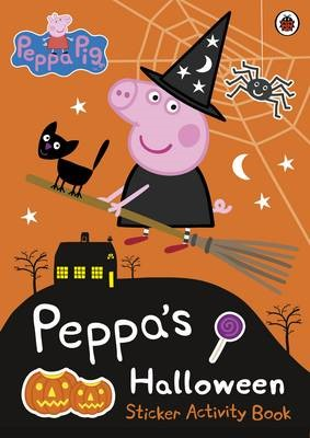 Peppa Pig: Peppa's Halloween Sticker Activity Book - pr_126556