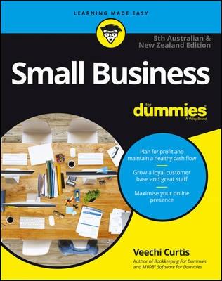 Small Business For Dummies - Australia & New Zealand - pr_1734937