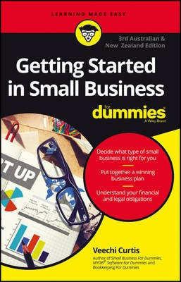 Getting Started In Small Business For Dummies - Australia and New Zealand - pr_299452