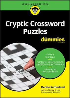 Cryptic Crossword Puzzles For Dummies -
