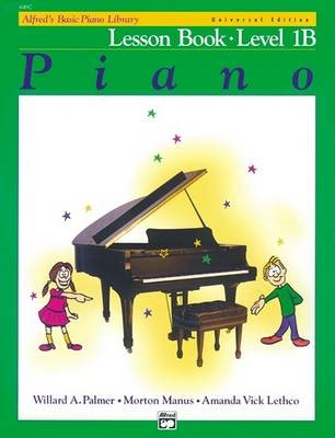 Alfred'S Basic Piano Library Lesson 1b -