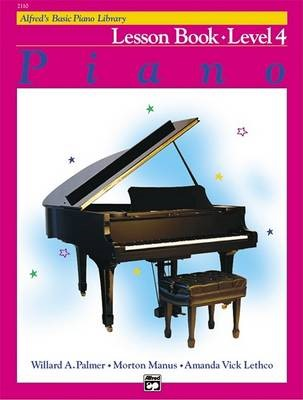 Alfred'S Basic Piano Library Lesson 4 -