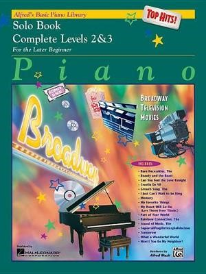 Alfred'S Basic Piano Library Top Hits Solo 2-3 -