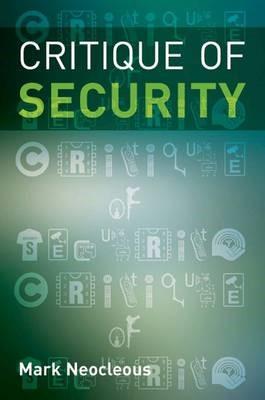 Critique of Security - pr_214325
