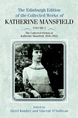 The Collected Fiction of Katherine Mansfield, 1916-1922 - pr_210059