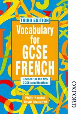 Vocabulary for GCSE French -