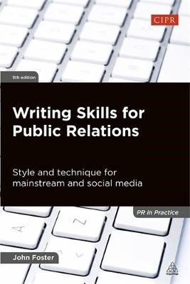 Writing Skills for Public Relations - pr_418454