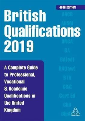British Qualifications 2019 -